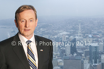 Taoiseach Enda Kenny in Seattle